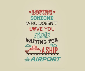 love, ship, and airport image