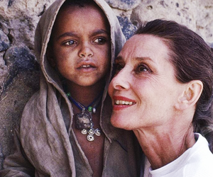 africa, audrey hepburn, and child image
