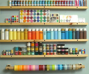colors, paint, and crafts image