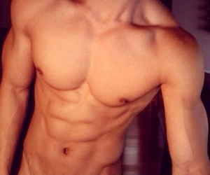 abs, Hot, and love image