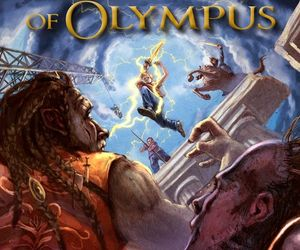 percy jackson, rick riordan, and heroes of olympus image