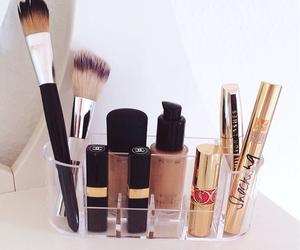 make up, cosmetics, and fashion image