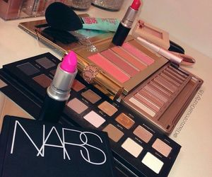 cosmetics, girly, and lipstick image