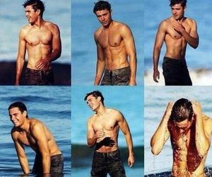 abs, efron, and Hot image