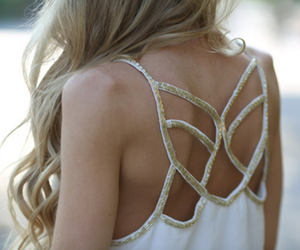 back, backless, and gold image