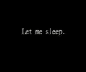 seriously, sleep, and sleep forever image