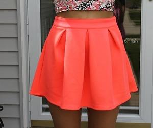 skirt, tumblr, and pink image