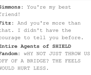 jemma simmons, agents of shield, and leo fitz image