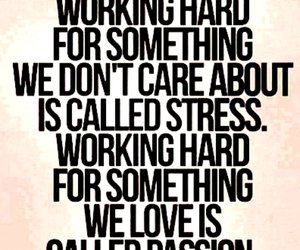 passion, quotes, and stress image