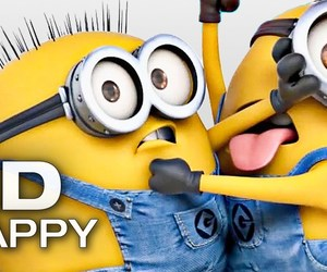 happy and minion image