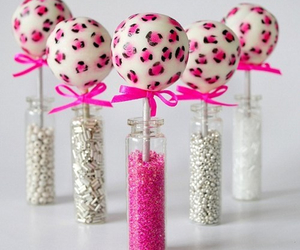 pink, sweet, and cake pops image