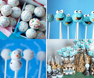 cake pops and cookie monster image