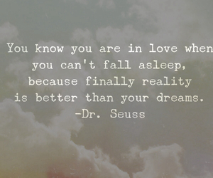 dreams, love, and in love image