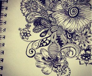 art, doodle, and draw image