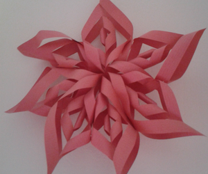 art, Paper, and pink image