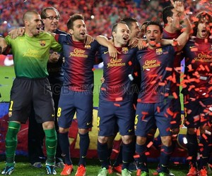 Barcelona, respect, and fcb image