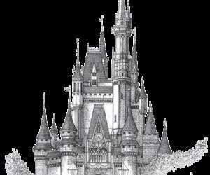 castle and transparent image