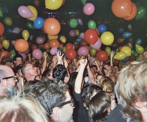 party, balloons, and people image