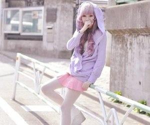 girl, kawaii, and japan image