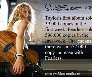 fearless and Taylor Swift image