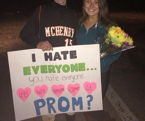 Prom, cute, and couple image