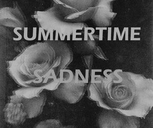 lana del rey, summertime sadness, and black and white image