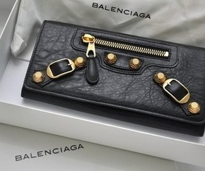 Balenciaga, fashion, and black image