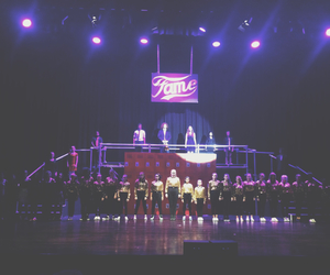 fame, musical, and gold image