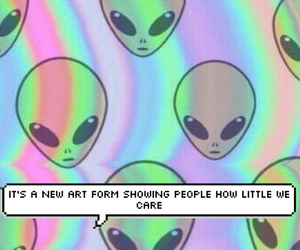alien, grunge, and lorde image