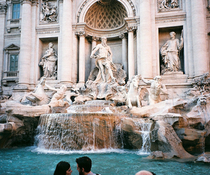 rome, italy, and fountain image