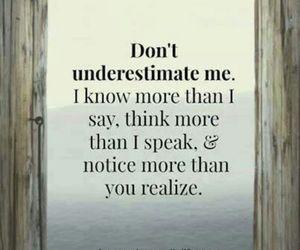 quote, realize, and underestimate image