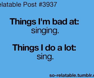 sing, singing, and funny image