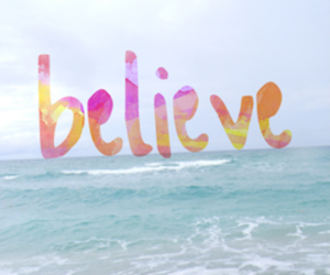 believe, sea, and summer image
