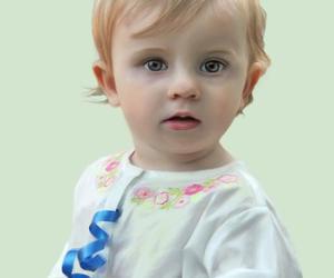 art, eyes, and baby image