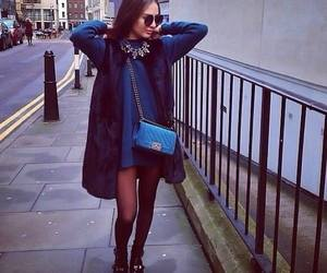 style, blue, and chanel image