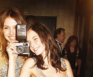 camera, Effy, and hannah murray image