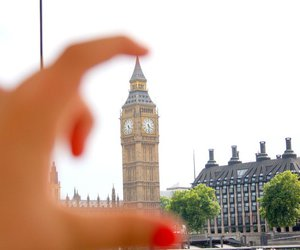 hand and london image