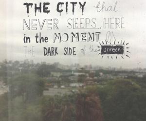 city, five, and Lyrics image