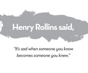 henry rollins, quote, and sad image