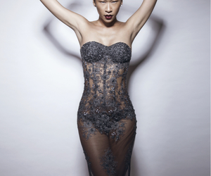 dress, sexy, and editorial image
