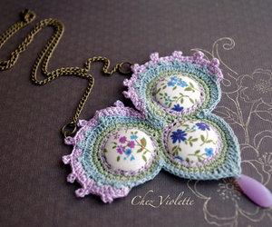 boho, crochet, and craft image