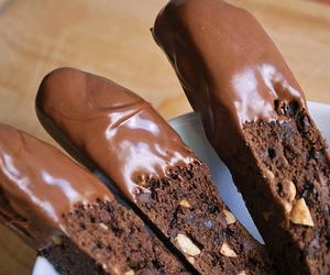 cake, chocolat, and chocolate image