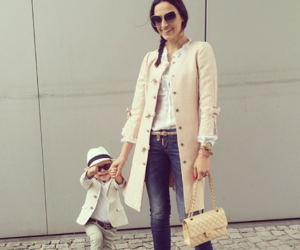 baby, classy, and mom image