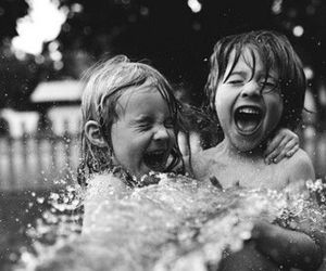 kids, child, and water image