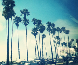 beach, love, and california image