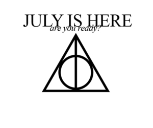 harry potter and july image