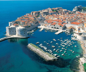Croatia, sea, and dubrovnik image