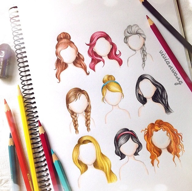 Image About Hair In Disney Princess By Lyn On We Heart It
