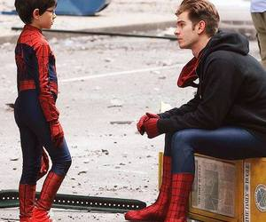 spiderman and andrew garfield image