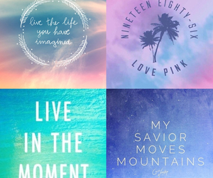 beautiful, blue, and Collage image